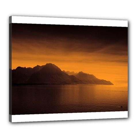 Waterscape, Switzerland 20  x 24  Framed Canvas Print