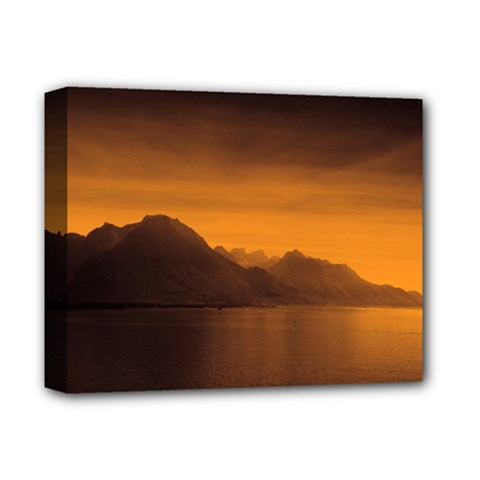 Waterscape, Switzerland Deluxe Canvas 14  X 11  (stretched)