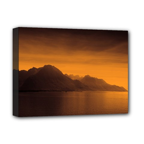 Waterscape, Switzerland Deluxe Canvas 16  X 12  (stretched)