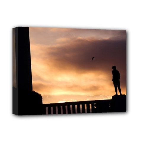Vigeland Park, Oslo Deluxe Canvas 16  X 12  (stretched)