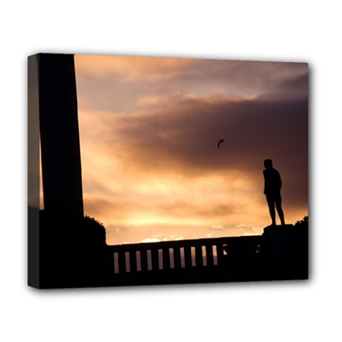 Vigeland Park, Oslo Deluxe Canvas 20  x 16  (Stretched)