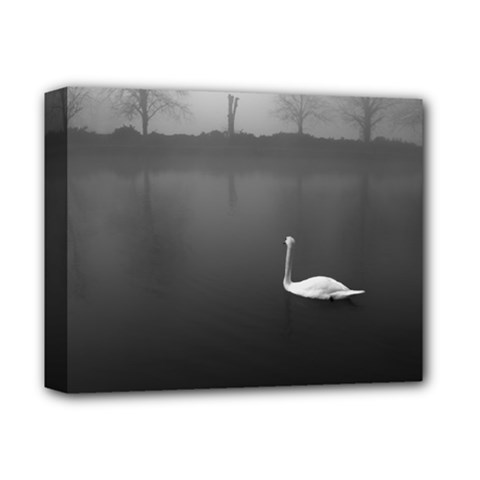 Swan Deluxe Canvas 14  X 11  (stretched)