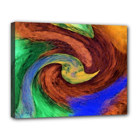 Culture Mix 11  x 14  Framed Canvas Print