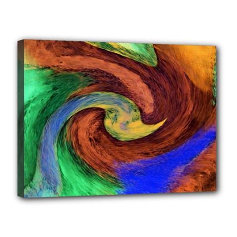 Culture Mix 12  x 16  Framed Canvas Print