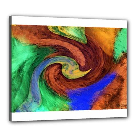 Culture Mix 20  x 24  Framed Canvas Print