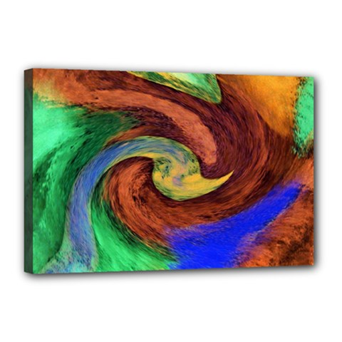 Culture Mix 12  X 18  Framed Canvas Print