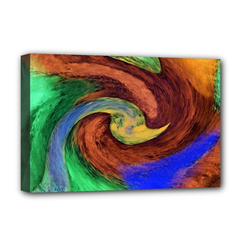 Culture Mix Deluxe Canvas 18  x 12  (Stretched)