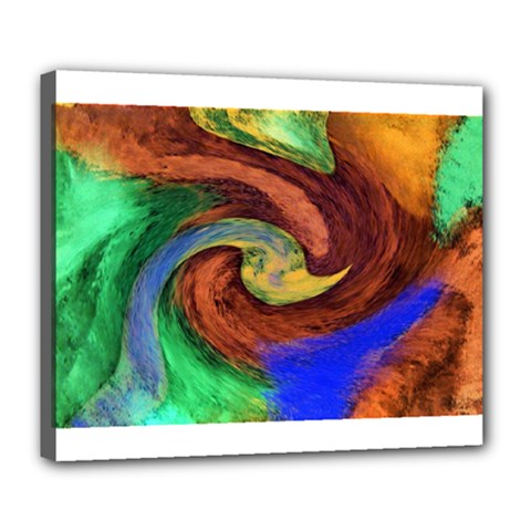 Culture Mix Deluxe Canvas 24  X 20  (stretched)