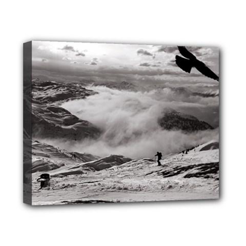 Untersberg Mountain, Austria 8  X 10  Framed Canvas Print