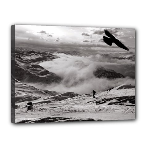Untersberg mountain, Austria 12  x 16  Framed Canvas Print