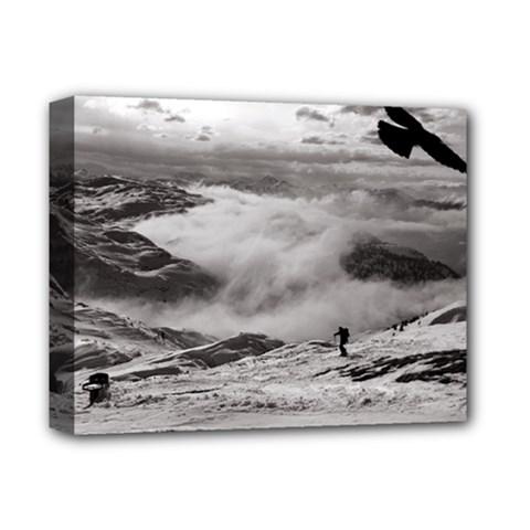 Untersberg Mountain, Austria Deluxe Canvas 14  X 11  (stretched)