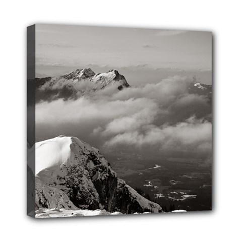 Untersberg Mountain, Austria 8  X 8  Framed Canvas Print