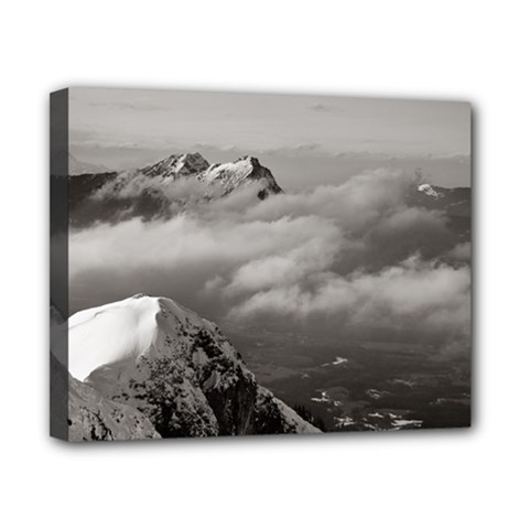 Untersberg Mountain, Austria 8  X 10  Framed Canvas Print