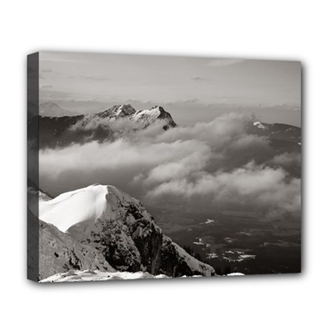 Untersberg mountain, Austria Deluxe Canvas 20  x 16  (Stretched)