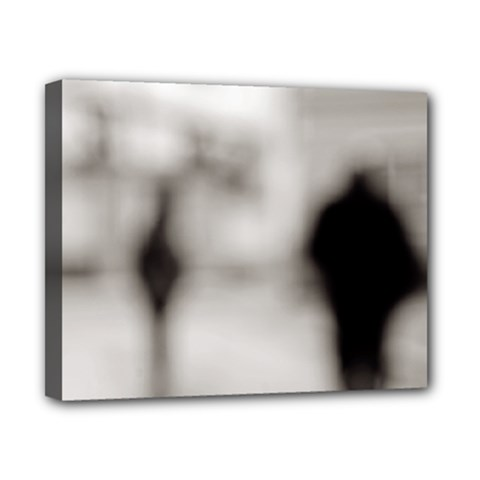 People fading away 8  x 10  Framed Canvas Print