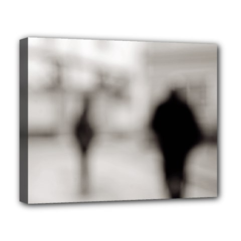 People fading away Deluxe Canvas 20  x 16  (Stretched)