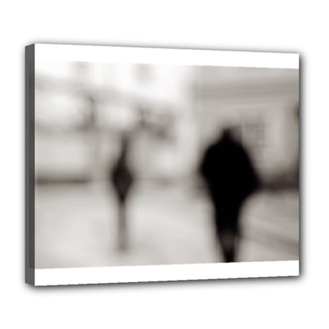 People fading away Deluxe Canvas 24  x 20  (Stretched)