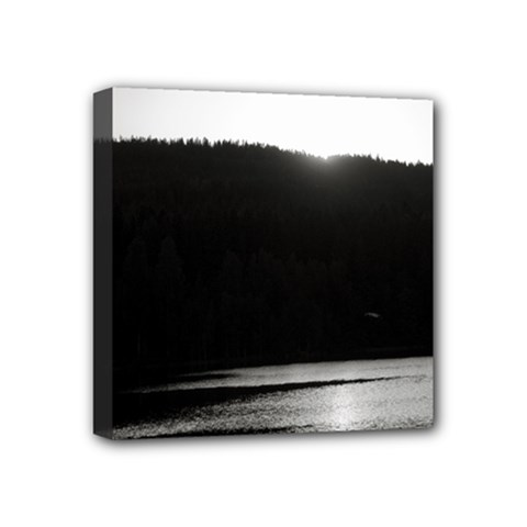 Waterscape, Oslo 4  X 4  Framed Canvas Print