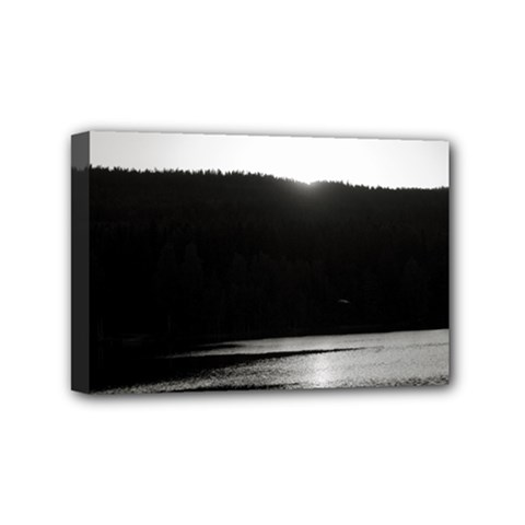 Waterscape, Oslo 4  x 6  Framed Canvas Print