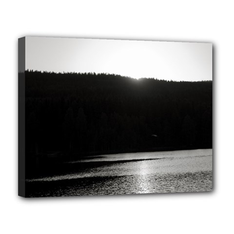 Waterscape, Oslo 11  x 14  Framed Canvas Print