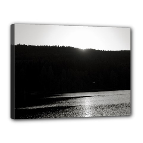 Waterscape, Oslo 12  x 16  Framed Canvas Print