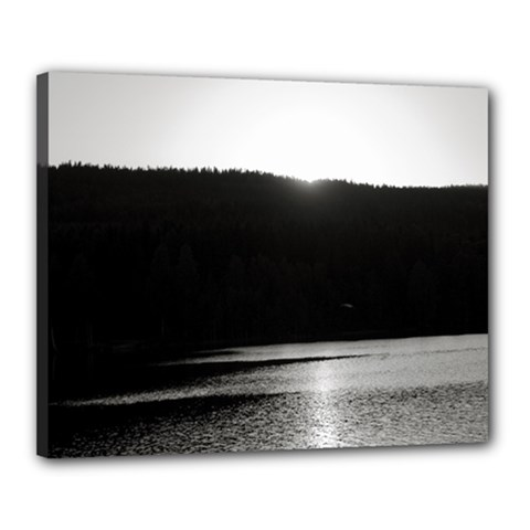Waterscape, Oslo 16  X 20  Framed Canvas Print
