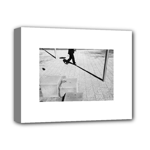 Geometric  Deluxe Canvas 14  X 11  (stretched)