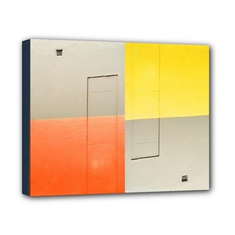 Geometry 8  X 10  Framed Canvas Print
