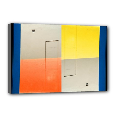 geometry 12  x 18  Framed Canvas Print