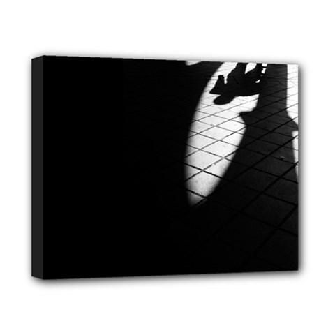 shadows 8  x 10  Framed Canvas Print