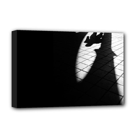 Shadows Deluxe Canvas 18  X 12  (stretched)