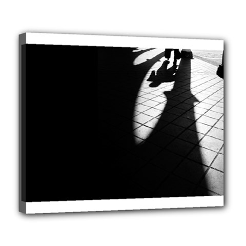 Shadows Deluxe Canvas 24  X 20  (stretched)