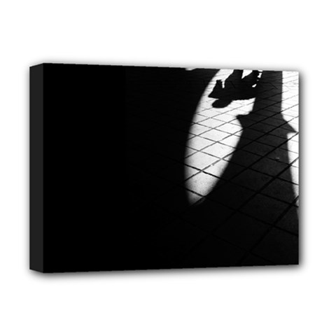 shadows Deluxe Canvas 16  x 12  (Stretched)