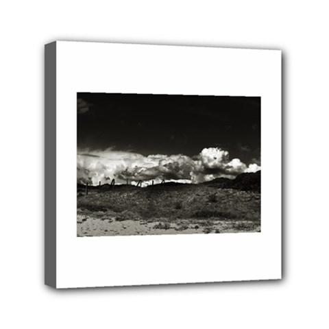 landscape, Corsica 6  x 6  Framed Canvas Print