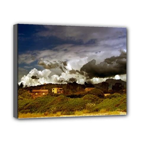 beach, Corsica 8  x 10  Framed Canvas Print