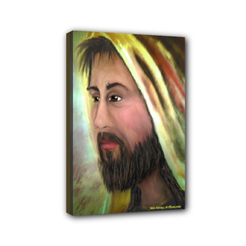 Jesus By Ave Hurley    4  X 6  Framed Canvas Print