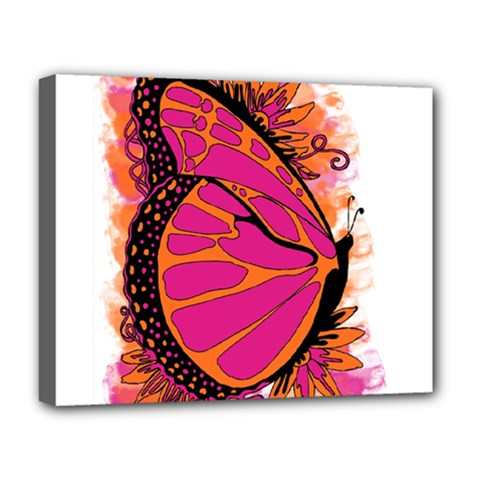 Pink Butter T Copy Deluxe Canvas 20  x 16  (Stretched)