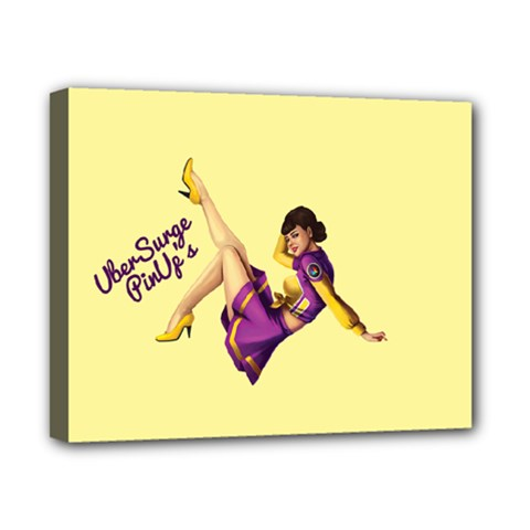 Pin Up Girl 1 Canvas 10  x 8  (Stretched)