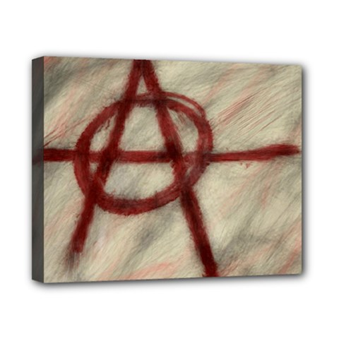 Anarchy 8  x 10  Framed Canvas Print