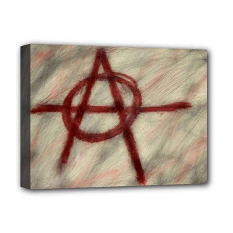 Anarchy Deluxe Canvas 16  x 12  (Stretched)