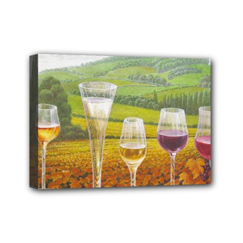 Vine 5  X 7  Framed Canvas Print