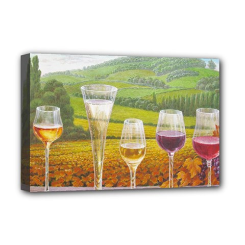 vine Deluxe Canvas 18  x 12  (Stretched)