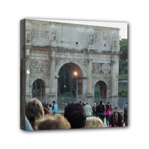 Rome 6  X 6  Framed Canvas Print