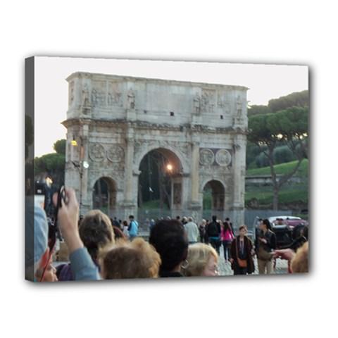 Rome 12  X 16  Framed Canvas Print