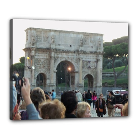 Rome 16  X 20  Framed Canvas Print