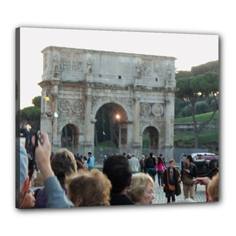 Rome 20  x 24  Framed Canvas Print