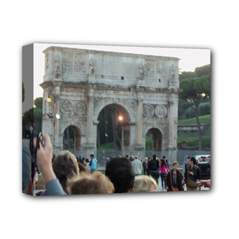 Rome Deluxe Canvas 14  x 11  (Stretched)
