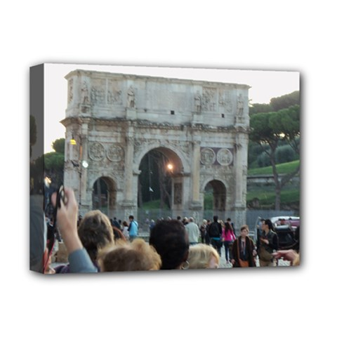 Rome Deluxe Canvas 16  X 12  (stretched)