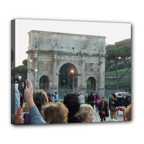 Rome Deluxe Canvas 24  x 20  (Stretched)
