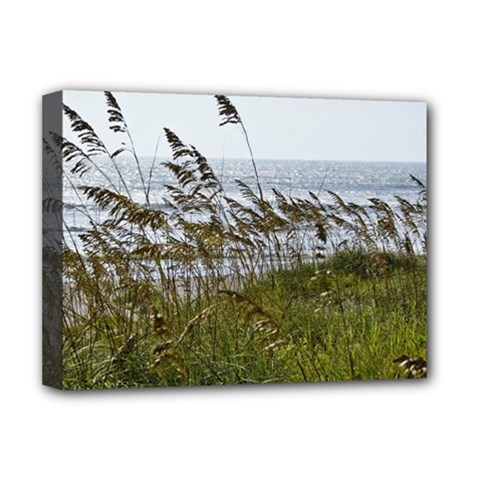 Cocoa Beach, Fl Deluxe Canvas 16  X 12  (stretched)